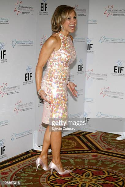 Katie Couric during Entertainment Industry Foundation's NCCRA 'Hollywood Meets Motown' Colon Cancer benefit at Waldorf Astoria Hotel in New York New...