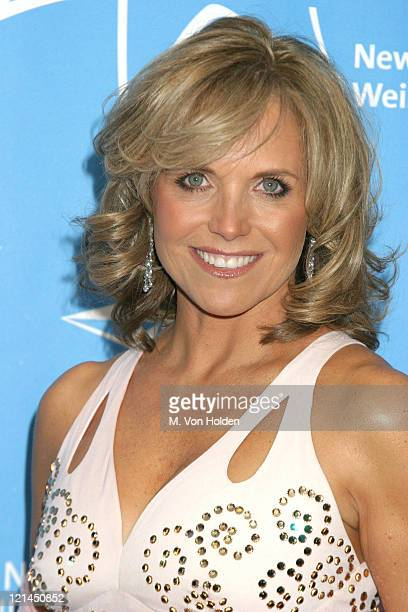 Katie Couric during Hollywood Hits Broadway, EIF's National Colorectal Cancer Research Alliance fundraiser at Queen Mary 2, Pier 92 in New York, New...