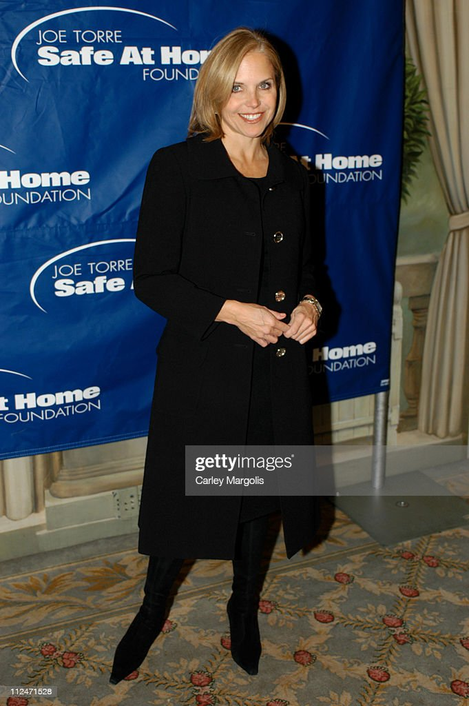 Katie Couric during Joe Torre Safe at Home Foundation's Second Annual Gala at Pierre Hotel in New York City, New York, United States.