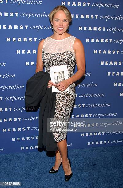 Katie Couric during The Inauguration of The Hearst Tower at The Hearst Tower in New York City New York United States