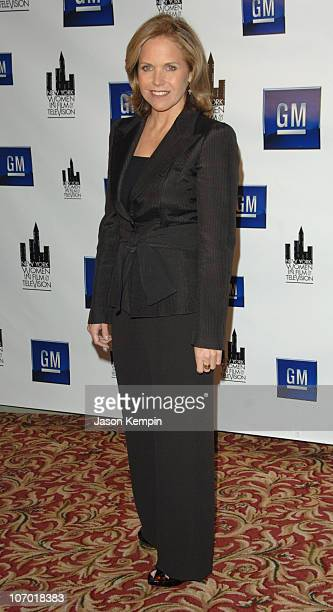 Katie Couric during The New York Women in Film and Television's 26th Annual Muse Awards - December 14, 2006 at The New York Hilton in New York City,...