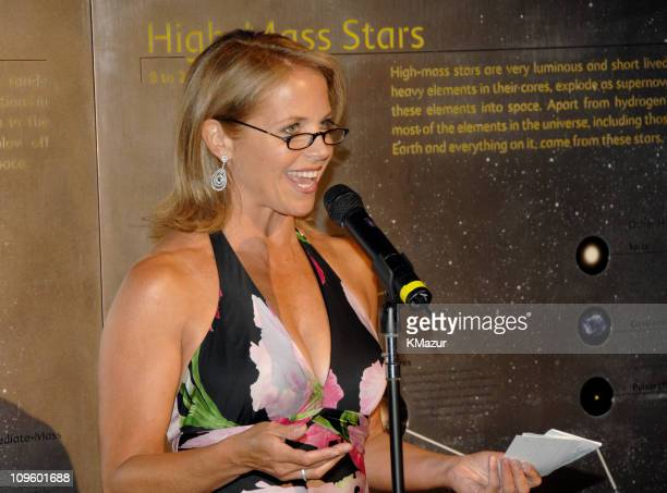 Katie Couric during Tony Bennett's 80th Birthday Party Inside in New York City New York United States