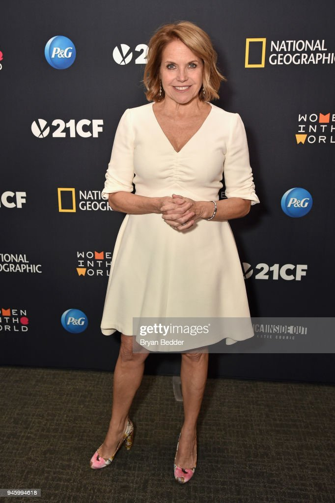 "National Geographic's Special Screening Of ""America Inside Out With Katie Couric"" in association with Women In The World"