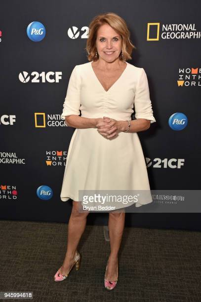 Katie Couric Host and Executive Producer attends National Geographic's special screening of AMERICA INSIDE OUT WITH KATIE COURIC in association with...