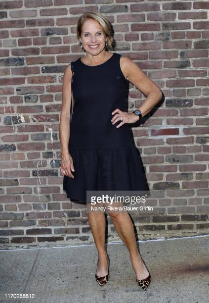 Katie Couric is seen on September 22 2019 in New York City