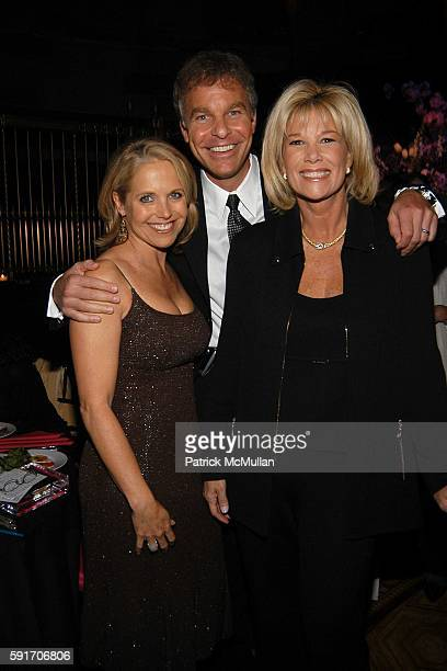 Katie Couric Jeff Konigsberg and Joan Lunden attend The Event To Prevent A Benefit for The Candie's Foundation for the Prevention of Teenage...