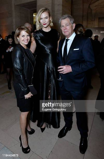 Katie Couric Karlie Kloss and David Foster attend the Fourth Annual Berggruen Prize Gala celebrating 2019 Laureate Supreme Court Justice Ruth Bader...