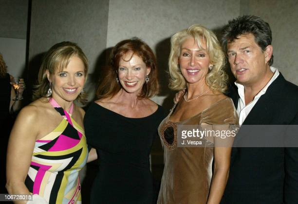 Katie Couric Linda Thompson and David Foster during UNICEF Goodwill Gala Celebrating 50 Years of Celebrity Goodwill Ambassadors Backstage and...