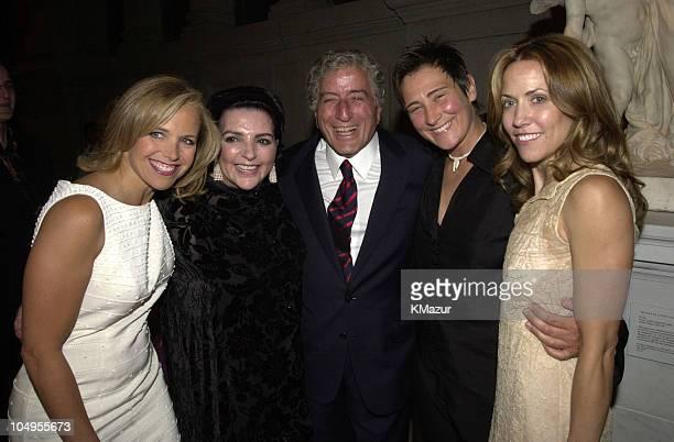 Katie Couric Liza Minnelli Tony Bennett kd Lang Sheryl Crow