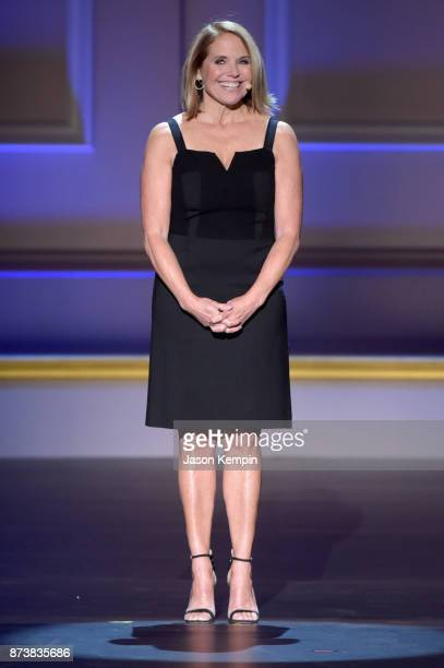 Katie Couric speaks onstage at Glamour's 2017 Women of The Year Awards at Kings Theatre on November 13 2017 in Brooklyn New York