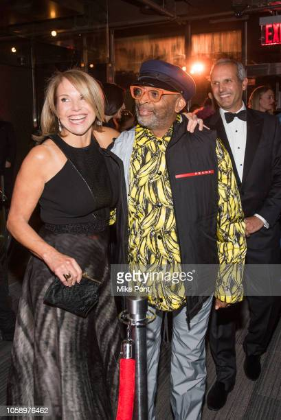 "Katie Couric, Spike Lee, and John Molner attend the opening of CMX CineBistro with special screenings of ""BlacKkKlansman"", ""City Lights"" and ""Pretty..."