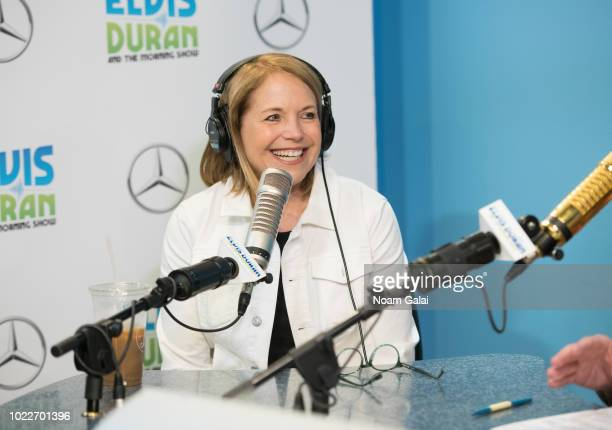 Katie Couric visits The Elvis Duran Z100 Morning Show at Z100 Studio on May 22 2018 in New York City