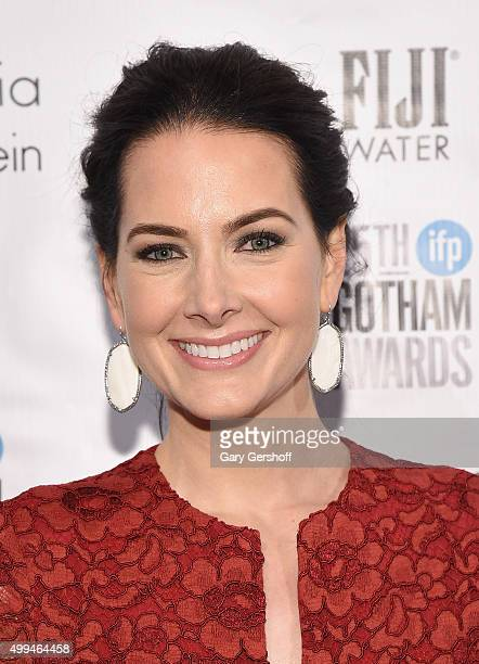 Katie Cox attends the 25th Annual Gotham Independent Film Awards at Cipriani Wall Street on November 30 2015 in New York City
