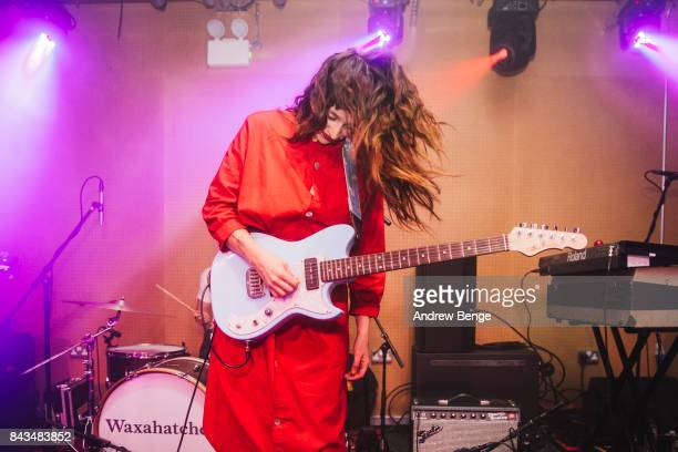 Katie Crutchfield of Waxahatchee performs at Brudenell Social Club on September 6 2017 in Leeds England