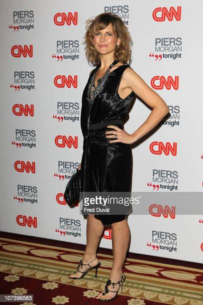 Katie Derham attends the launch of 'Piers Morgan Tonight' on CNN at Mandarin Oriental Hyde Park on December 7, 2010 in London, England.