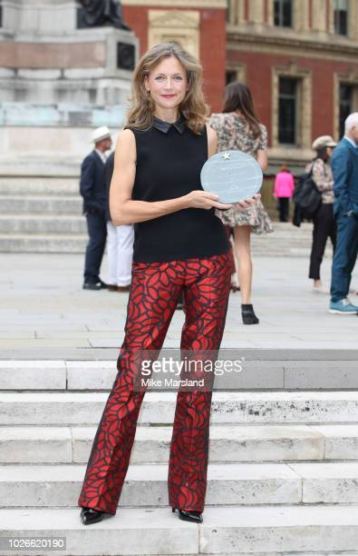 Katie Derham attends the launch of the Royal Albert Hall 'Walk Of Fame' at Royal Albert Hall on September 4 2018 in London England