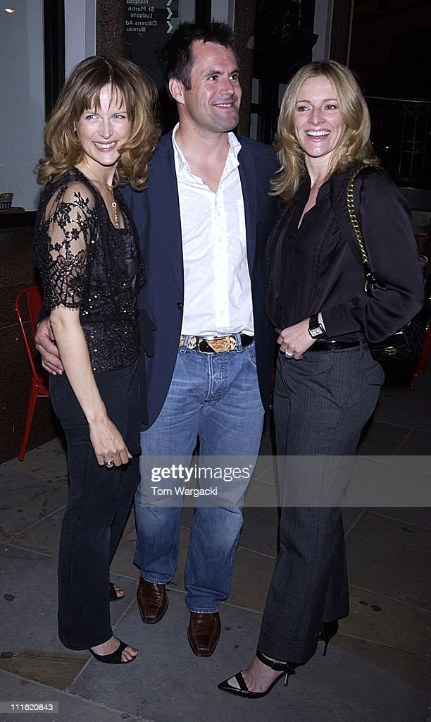 Gabby Logan and Katie Derham Sighting at Leon in London - September 29, 2005
