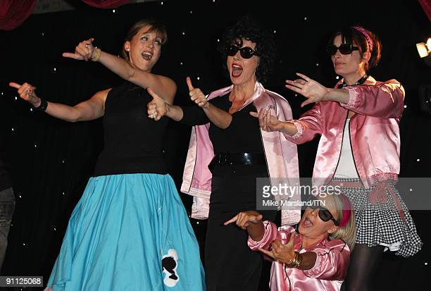 Katie Derham Mary Nightingale and the ITV news team perform at the Newsroom�s Got Talent event held in aid of Leonard Cheshire Disability and Helen...