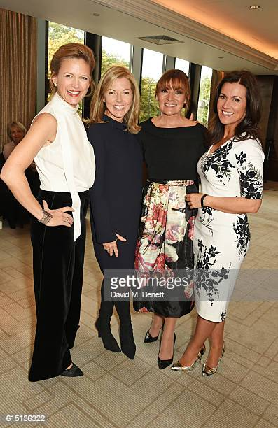 Katie Derham Mary Nightingale Lorraine Kelly and Susanna Reid attend The 61st Women of the Year lunch and awards 2016 at InterContinental Park Lane...