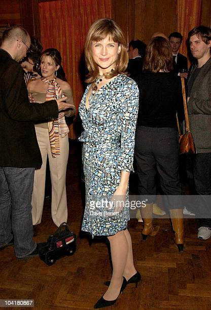 Katie Derham Saatchi Gallery 1st Anniversary Party At County Hall On The South Bank London