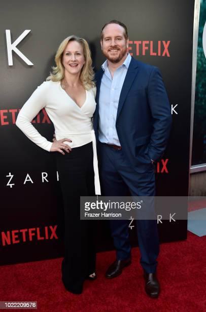 Katie Finneran and Darren Goldstein attend the Premiere Of Netflix's 'Ozark' Season 2 at ArcLight Cinemas on August 23 2018 in Hollywood California