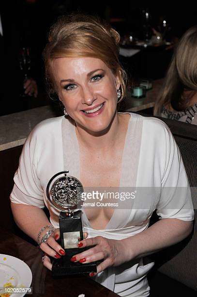 Katie Finneran attends the after party following the 64th Annual Tony Awards at Rockefeller Center on June 13 2010 in New York City