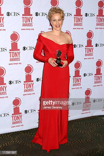 Katie Finneran during 56th Annual Tony Awards Press Room at American Theater at Radio City Music Hall in New York City New York United States