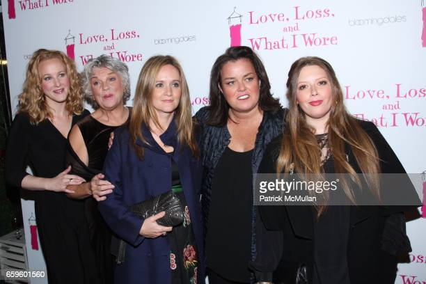 Katie Finneran Tyne Daly Samantha Bee Rosie O'Donnell and Natasha Lyonne attend Opening Night of NORA and DELIA EPHRON'S LOVE LOSS AND WHAT I WORE at...