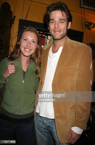 Katie Flynn and Ivan Sergei during Tails From the Heart a Benefit for Linda Blair World Heart Foundation at La Poubelle in Los Angeles CA United...