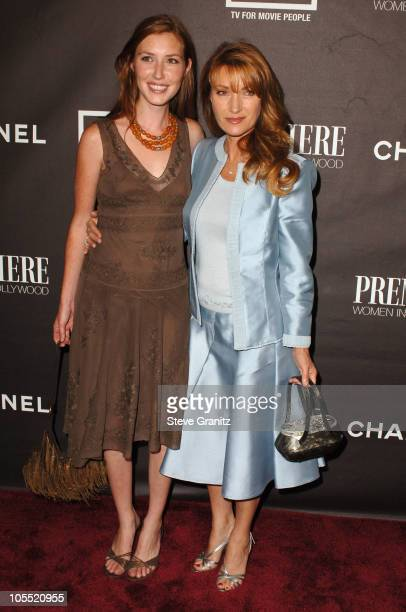 Katie Flynn and Jane Seymour during 12th Annual Premiere Women in Hollywood Arrivals in Beverly Hills California United States