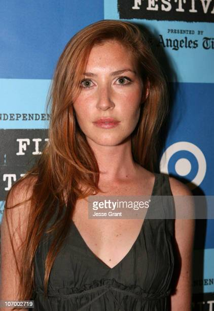 Katie Flynn during 2006 Los Angeles Film Festival The Beach Party at the Threshold of Hell Screening and QA at Crest Theater in Westwood California...