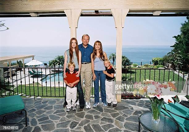 Katie Flynn John Keach James Keach Jane Seymour Kristopher Keach Jane Seymour Photo Shoot Malibu Home Malibu California