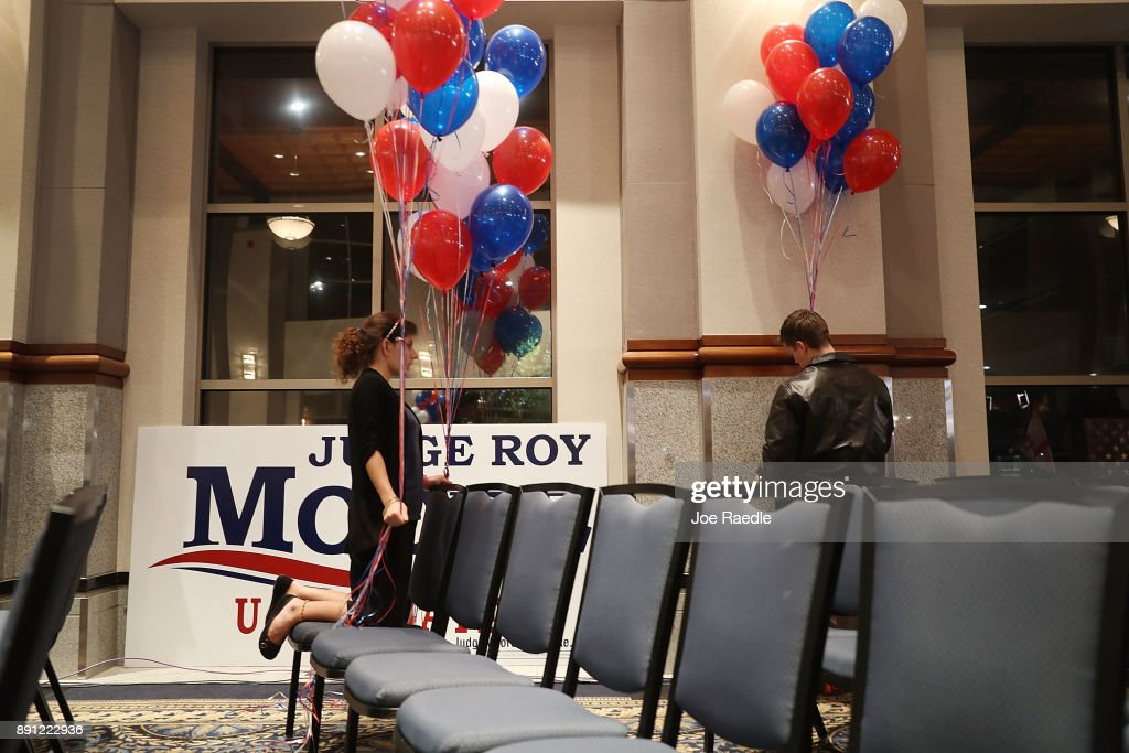 Alabama GOP Senate Candidate Roy Moore Holds Election Night Victory Party