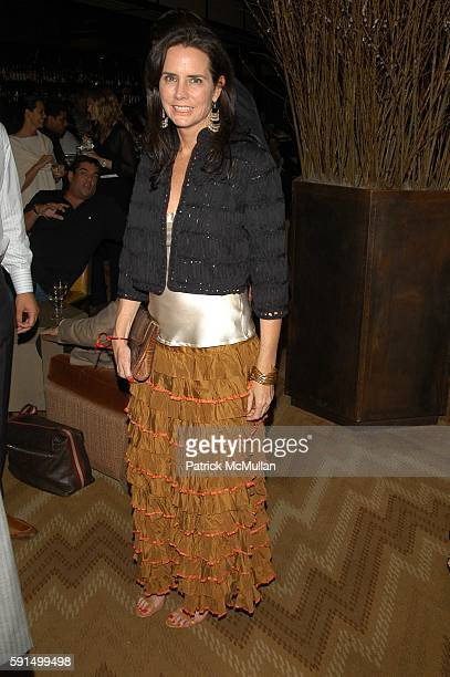 Katie Ford attends Wayuu Taya Foundation Dinner at Tribeca Grand Hotel NYC USA on June 20 2005