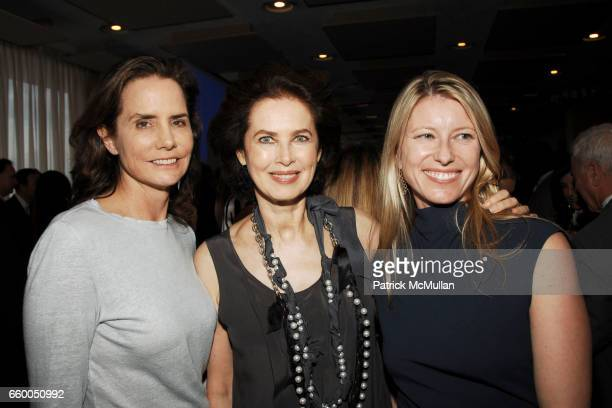 Katie Ford Dayle Haddon and Liz Zakaria attend WELCOME TO GULU EXHIBITION AND BENEFIT ART SALE ANTIHUMAN TRAFFICKING INNITIATIVE at The United...