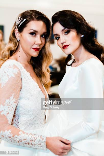 Katie Fountain and Jackie Del Valle attend the Sanctuary Fashion Week on March 7 2019 in Los Angeles California