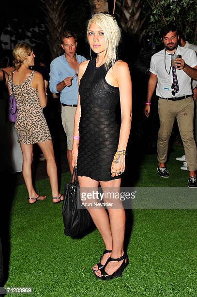 Katie Gallagher attends the Wildfox Swim Cruise 2014 VIP BBQ at Soho Beach House on July 21 2013 in Miami Beach Florida