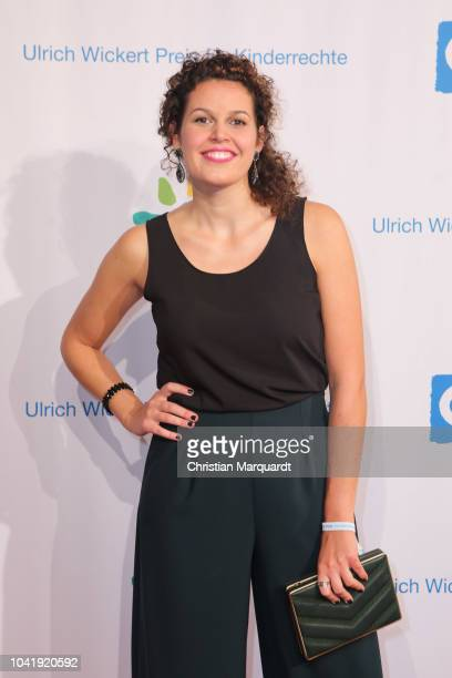 Katie Gallus attends the Ulrich Wickert and Peter SchollLatour award at Bar jeder Vernunft on September 27 2018 in Berlin Germany