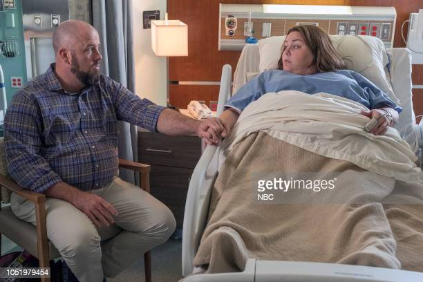 US Katie Girls Episode 303 Pictured Chris Sullivan as Toby Damon Chrissy Metz as Kate Pearson