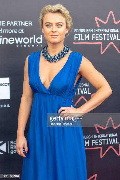 Katie Goldfinch attends a photocall for the World Premiere of 'Lucid' during the 72nd Edinburgh International Film Festival at Cineworld on June 23...