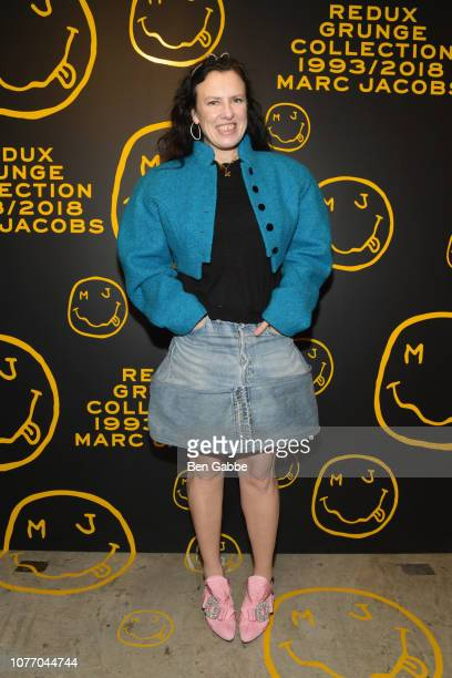 Katie Grand attends as Marc Jacobs Sofia Coppola Katie Grand celebrate The Marc Jacobs Redux Grunge Collection and the opening of Marc Jacobs Madison...