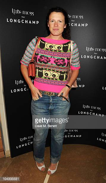 Katie Grand attends the Kate Moss Longchamp LFW party at Lonchamp on September 21 2010 in London England