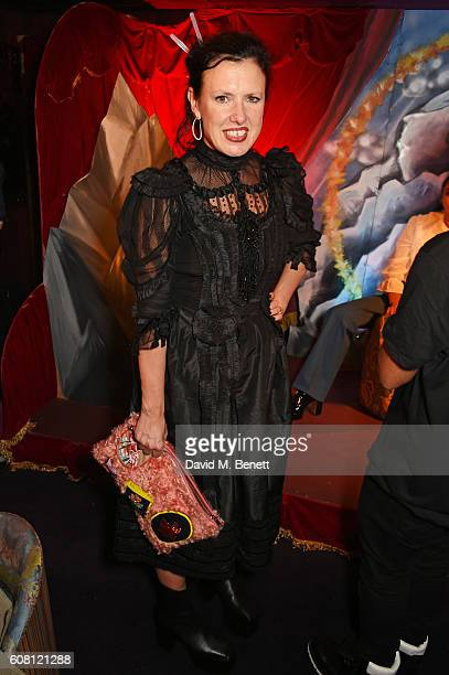 Katie Grand attends the LOVE Magazine and Marc Jacobs LFW Party to celebrate LOVE 165 collector's issue of LOVE and Berlin 1989 at Loulou's on...