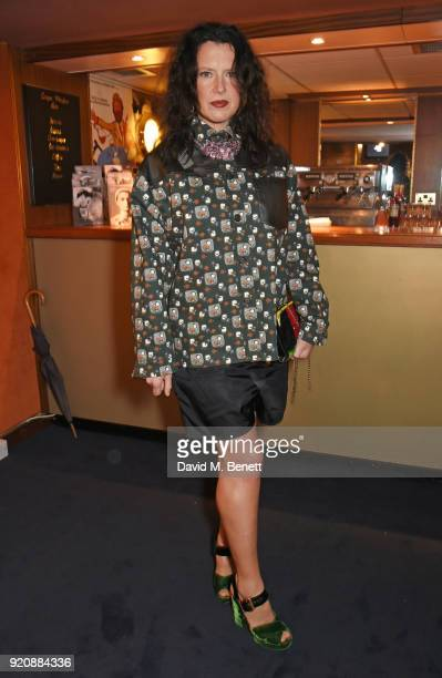 Katie Grand attends the Miu Miu Women's Tales Screening at The Curzon Mayfair on February 19 2018 in London England