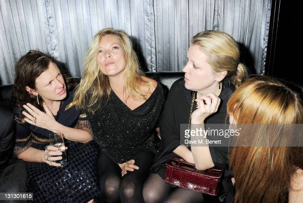 Katie Grand Kate Moss Jess Hallett and Annabelle Neilson attend the Dazed Confused 20th Anniversary Party coinciding with the launch of Dazed's new...