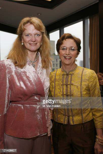 Katie Grover and Sara Gould during Ms Foundation for Women's 18th Annual Gloria Awards at Mandarin Hotel in New York NY United States