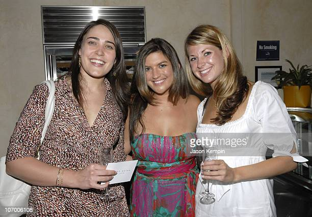 Katie Henderson Cate Edwards and Melissa DeRosa during Women's Leadership Forum of The Democratic National Committee Meeting In New York City July 11...