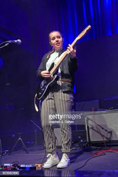 Katie Henderson of The Aces performs at Mercury Ballroom on February 23 2018 in Louisville Kentucky