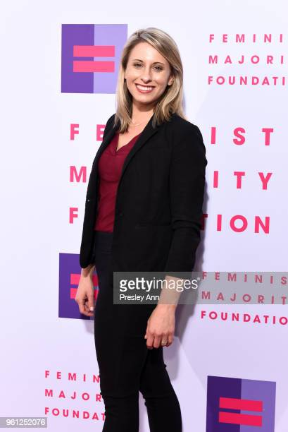 Katie Hill attends 13th Annual Global Women's Rights Awards at Wallis Annenberg Center for the Performing Arts on May 21 2018 in Beverly Hills...
