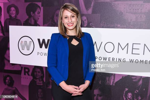 Katie Hill attends TheWrap's Power Women SummitDay 2 at InterContinental Los Angeles Downtown on November 01 2018 in Los Angeles California